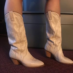 ACME Shoes - Acme Tan Cowboy Boots